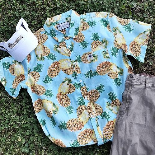 """Preppy Pirate """"Local Fruit"""" Tropical Shirt"""