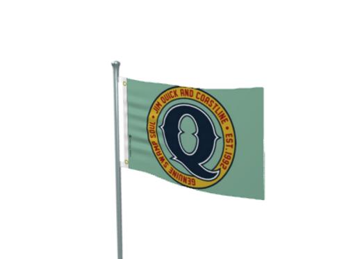 Jim Quick & Coastline Flag 3 x 5 Foot