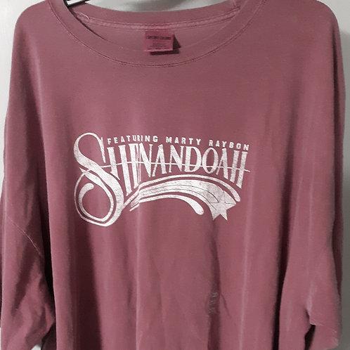 Shenandoah Short Sleeve Logo T Shirt - wine