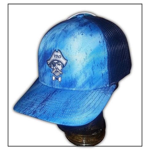 Preppy Pirate Ocean Water Trucker Hat