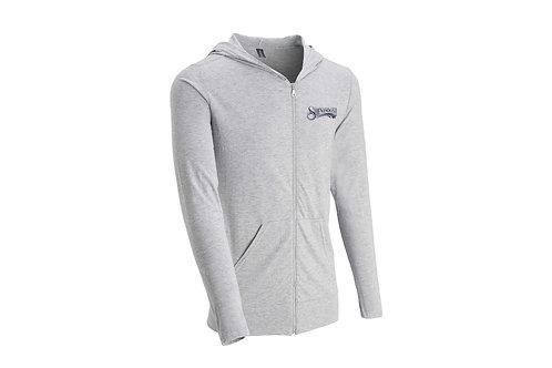 Shenandoah Tri-Blend zip up hooded shirt