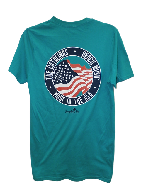 The Catalinas Made In the USA Beach music t shirt