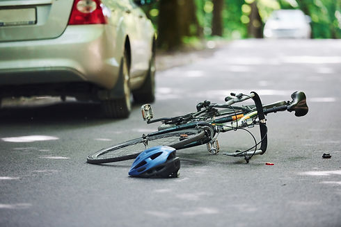 bicycle-and-silver-colored-car-accident-