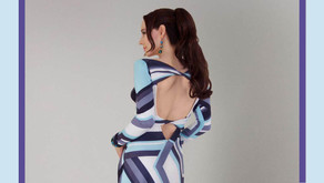 Couture Print Dress