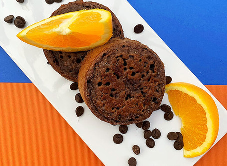 New Flavour - Chocolate Orange Crumpet!
