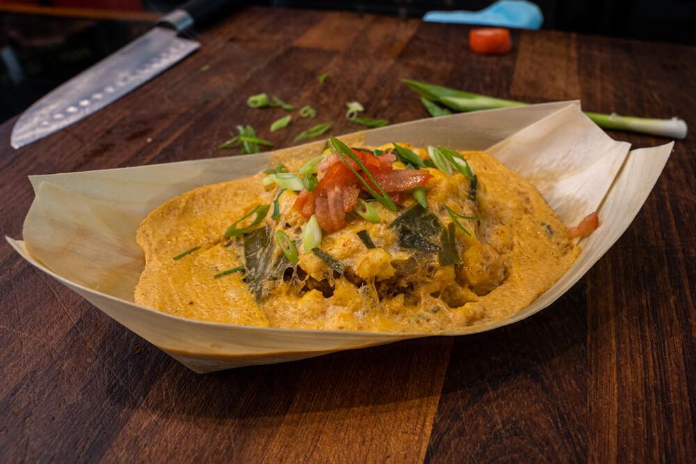 love Norwich food ginger crumpet  thai hor mok recipe