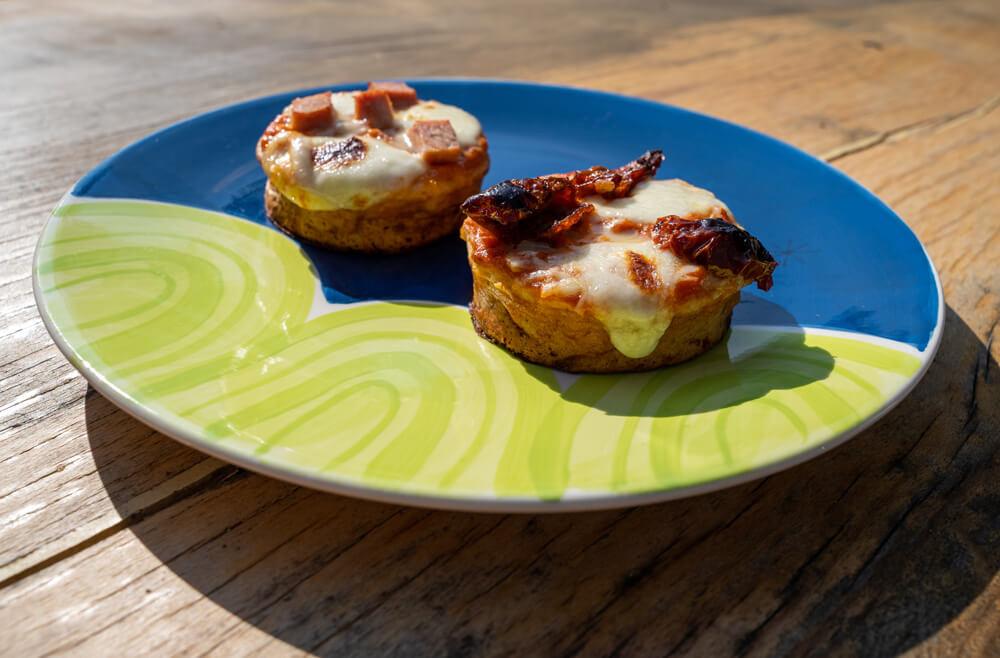 easy crumpet pizza recipe for kids by love Norwich food x crumpetorium