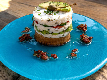 Crab Crumpet Tower Recipe - Love Norwich Food X Crumpetorium