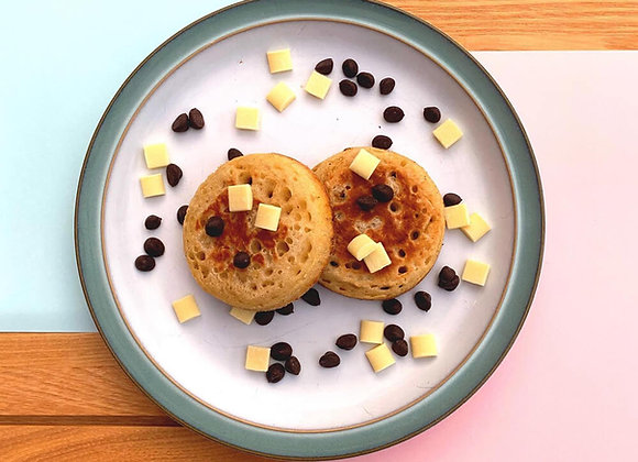 Chocolate Chipper Crumpets - 6 pack
