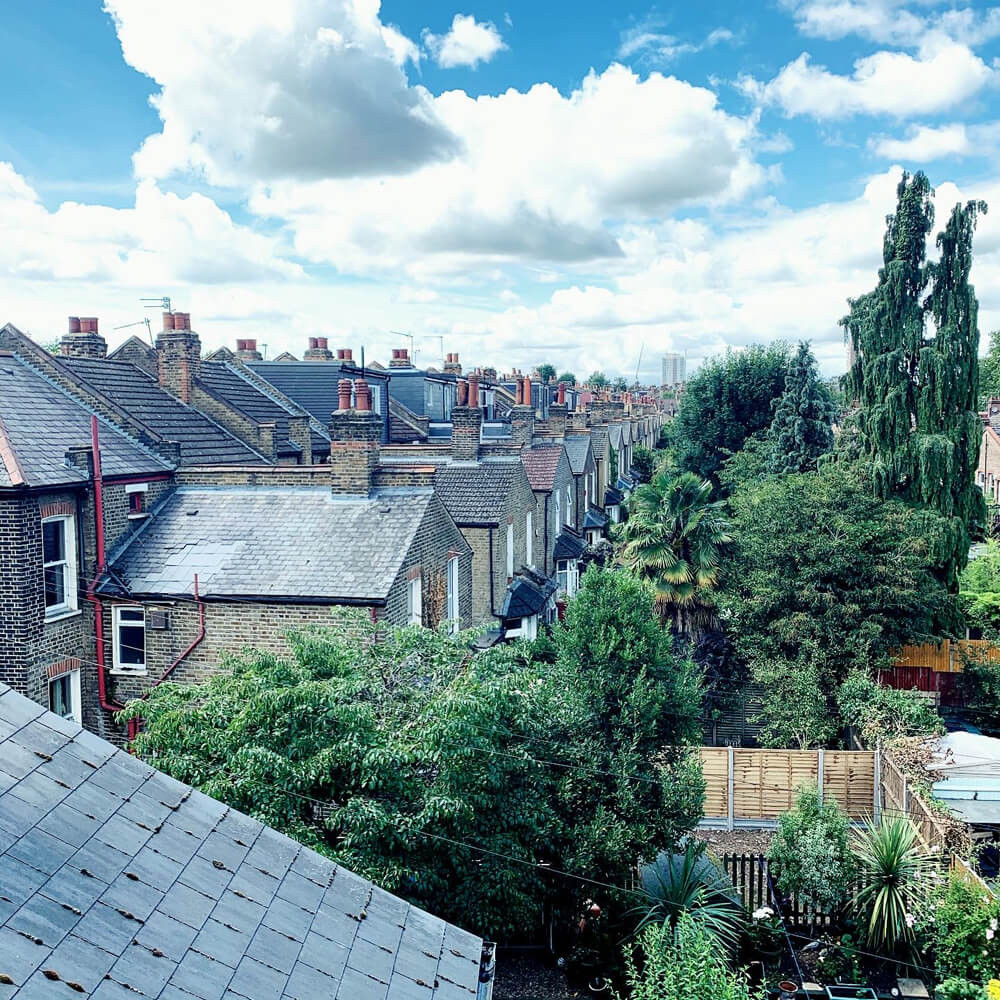 Hackney rooftops