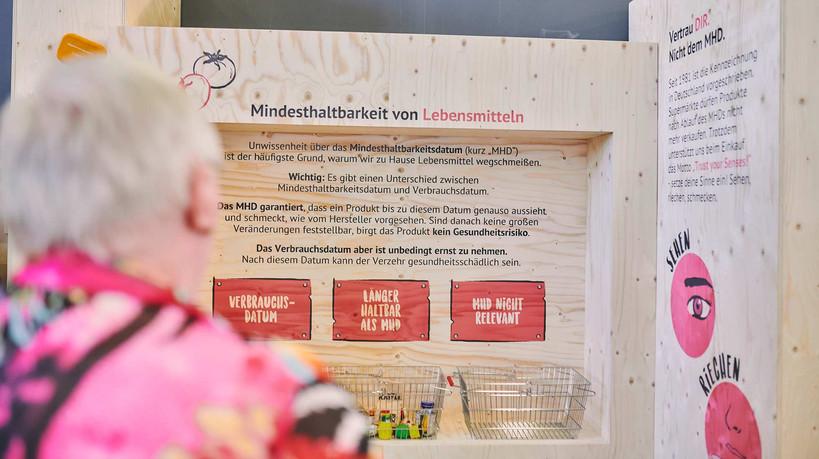 Stand design for Restlos Glücklich