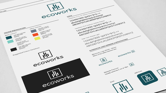 CI Manual and Styleguides for ecoworks