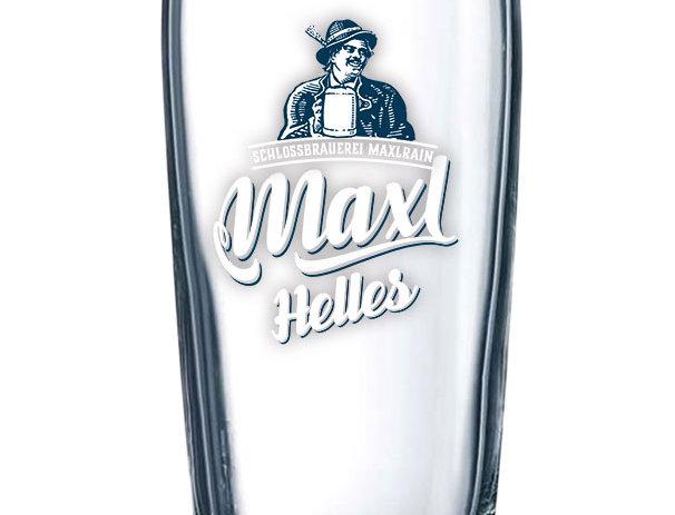"Willibecher ""Maxl - Das Helle"",  0,3l"