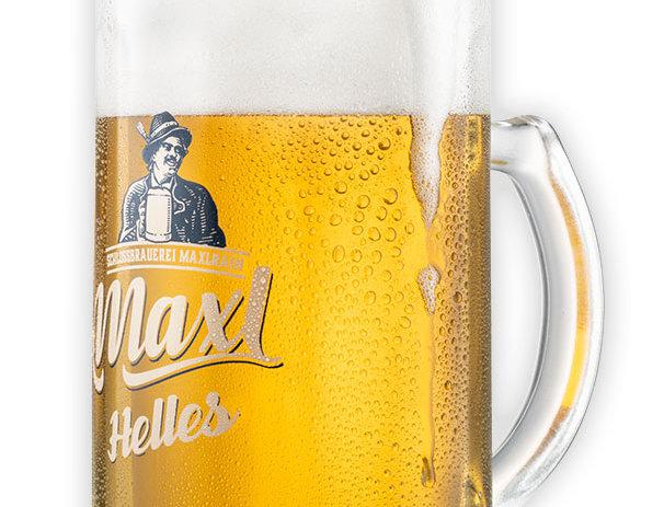 "Glückauf-Seidel ""Maxl - Das Helle"", 0,5l"