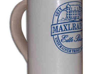 MAXLRAINER MASSKRUG aus Steingut