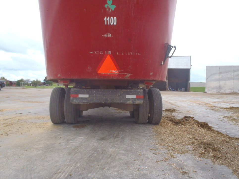 G – zero tire squat after 8,171 loads 8189 million lbs. of feed.