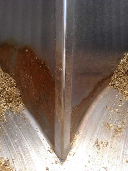 D3 – baffle edge, 12,469 loads, 265,857,910 lbs. of feed.