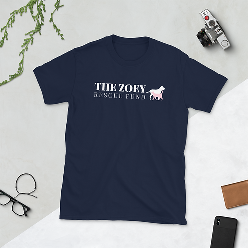 The Zoey Rescue Fund Tee