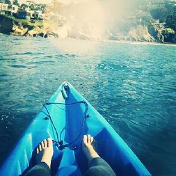 Kayaking off the Pacific Coast! #Kayak #