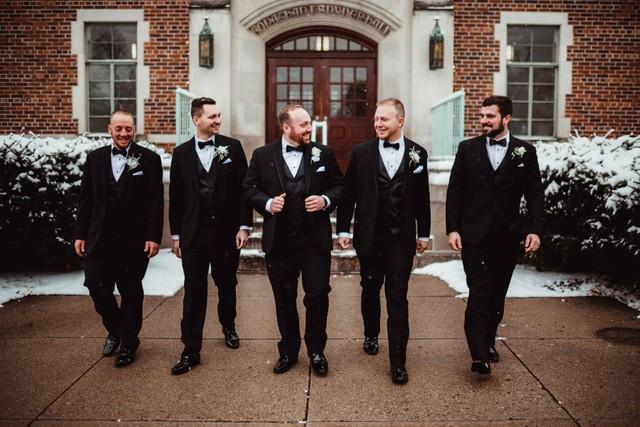 groomsmen photos michigan wedding coordinator