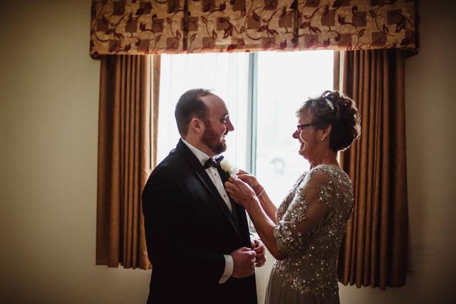 wedding mother son michigan wedding coordinator