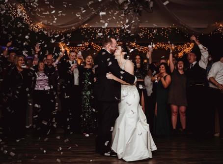 New Year's Eve Wedding - Kaddie & Patrick