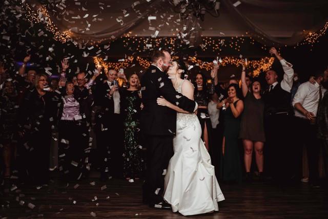 New Year's Eve Wedding michigan wedding coordinator