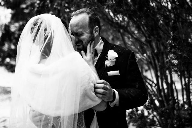 First look photo wedding coordinator michigan