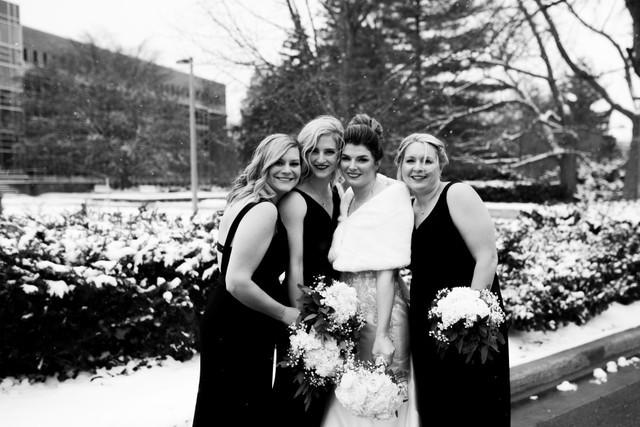 bridesmaid photos michigan wedding coordinator