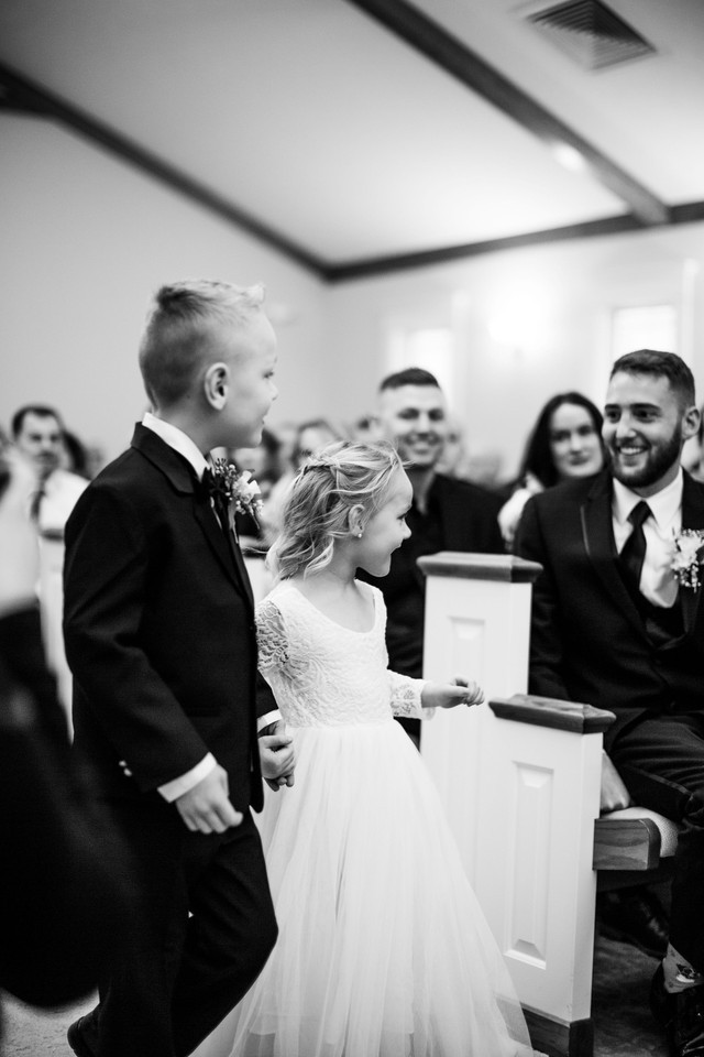flower girl ring bearer michigan wedding coordinator