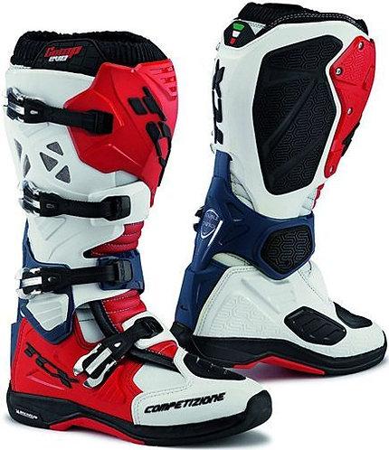 TCX Comp Evo Michelin Offroad Boots Red/White/Blue