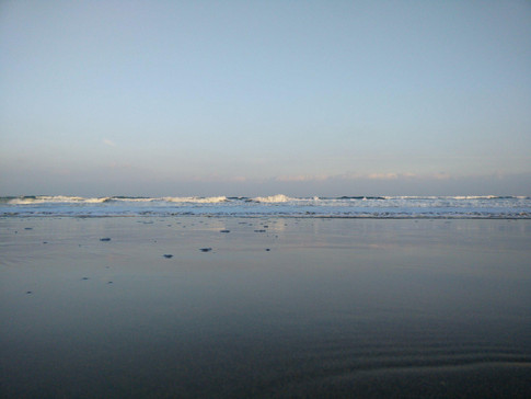 The waves at Gorran Haven