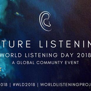 WORLD LISTENING DAY 2018 : FUTURE LISTENING