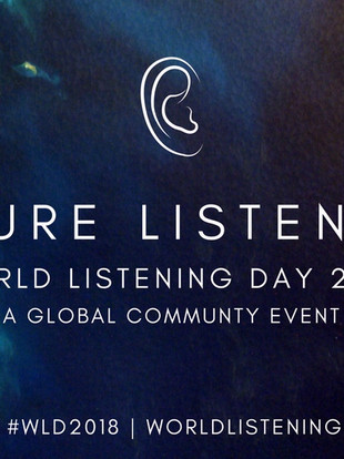 WORLD LISTENING DAY 2018 : FUTURE LISTENING