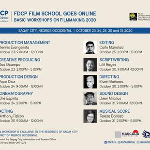 Film Music Workshop at Sagay City, Negros Occidental