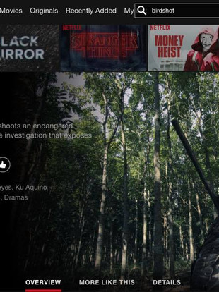 BIRDSHOT is now streaming on Netflix