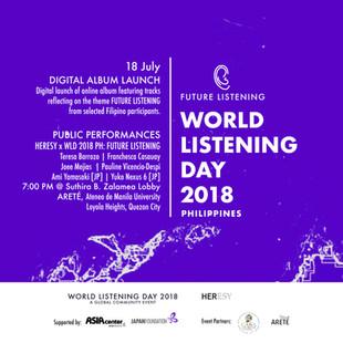 Philippines Celebrates World Listening Day 2018!