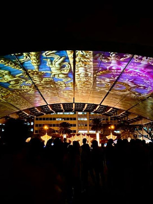 A CAROL OF LIGHT, 3D mapping Christmas show at the Ayala Triangle