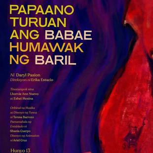 PAPAANO TURUAN ANG BABAE HUMAWAK NG BARIL at the Virgin Lab Fest