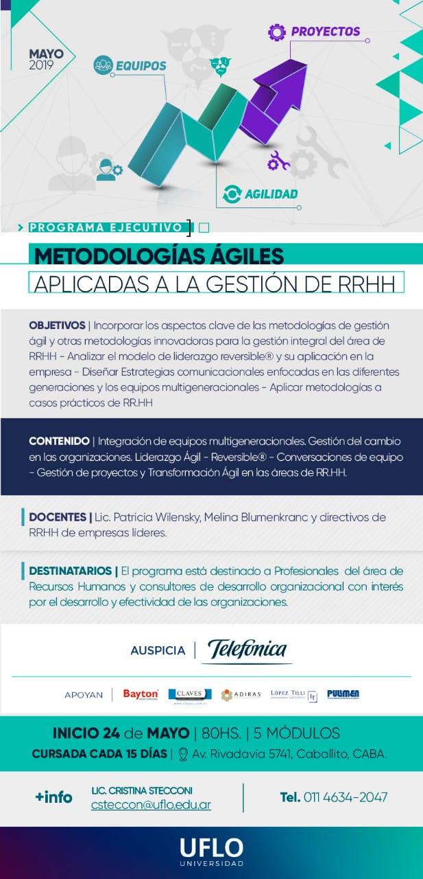 Programa Metodologias agiles en la gestión de RRHH