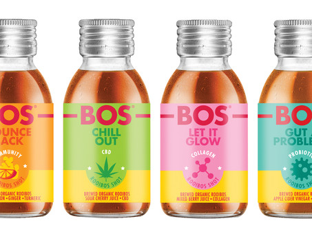 BOS Brands launches BOS Shots - functional rooibos-based health shots
