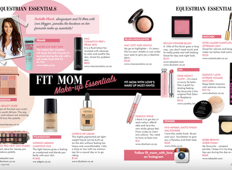STABLE YARD TO SOCIALITE - FIT MOM WITH LOVE MAKE UP ESSENTIALS