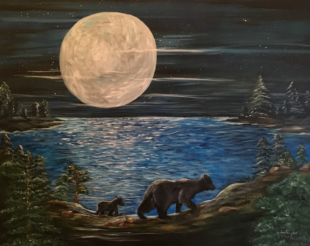 Majestic moon