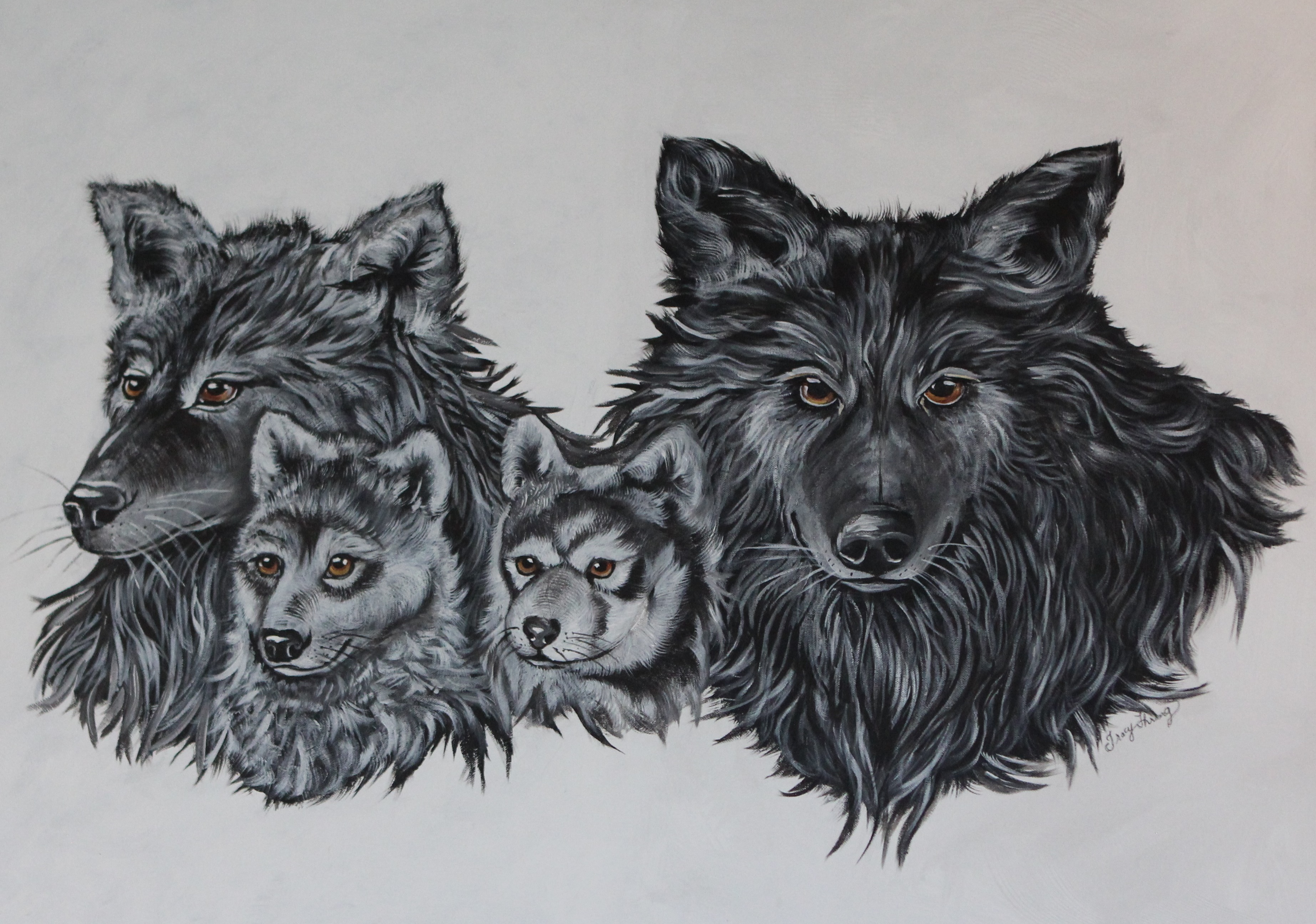 The family of wolves