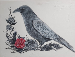 Rose and Raven