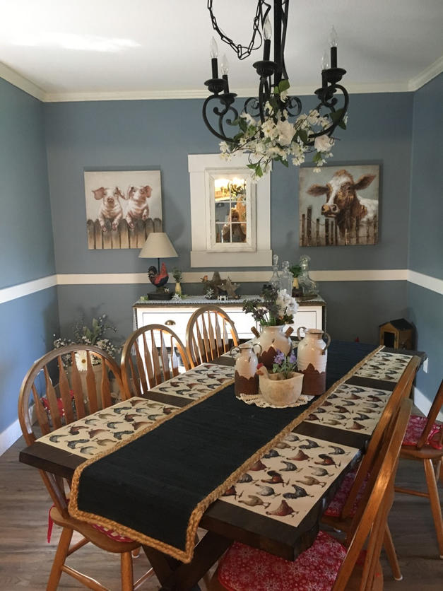 Country dinning room