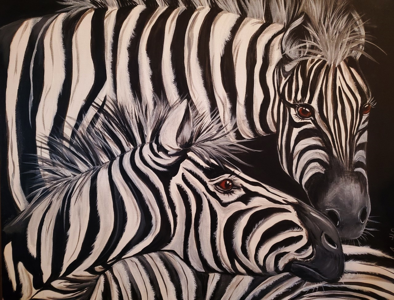 The Individuality spirit of the Zebra