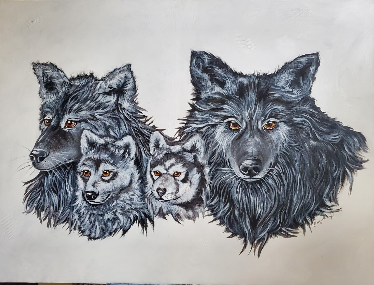 The Family spirit of the Wolf