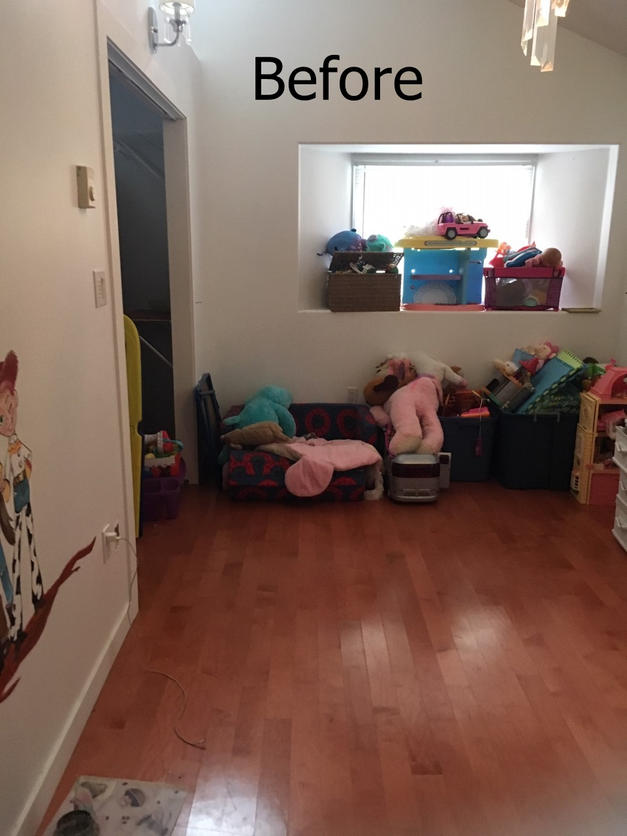 Toystory room before image