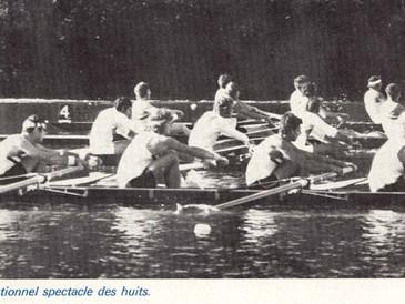 SUPREMATIE DE LA RDA aux quatrièmes championnats du monde à l'aviron
